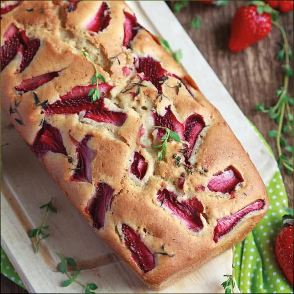 recette du breadcake muesli et fruits