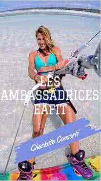 Charlotte Consorti ambassadrice EAFIT
