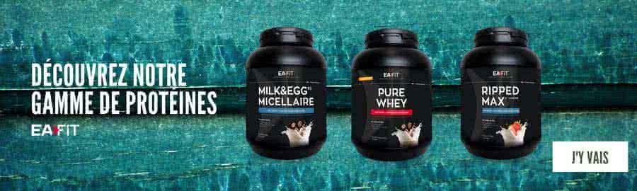 Les protéines de la gamme EAFIT